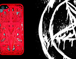 Ave Satani iPhone 5 Cover 3D Model