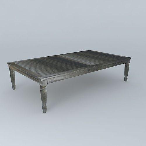 Gray Coffee Table Cyprus Houses The World Model Max Obj Mtl S Fbx Stl Dae