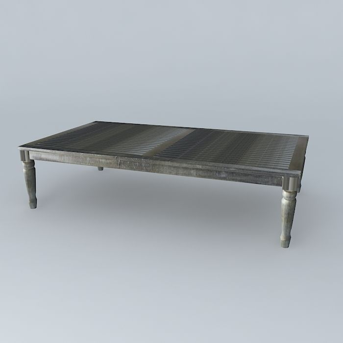 ... Gray Coffee Table Cyprus Houses The World 3d Model Max Obj Mtl 3ds Fbx  Stl Dae ...
