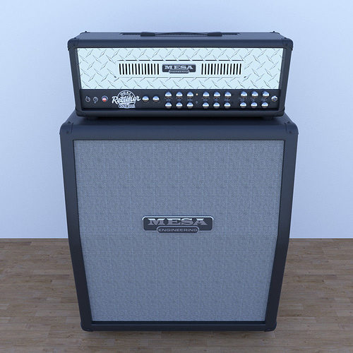 3d mesa boogie guitar cabinet cgtrader. Black Bedroom Furniture Sets. Home Design Ideas