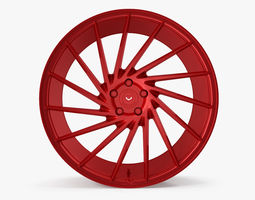 3D model Vossen VPS 304 Red