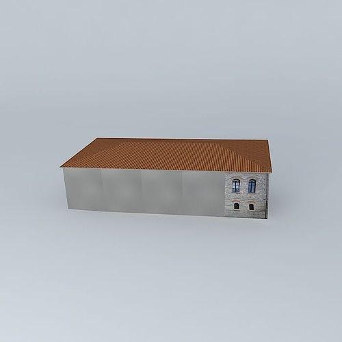environmental education center 3d model max obj mtl 3ds fbx stl dae 1