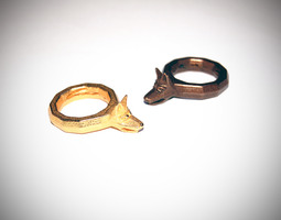 Dog Ring D18 3D print model