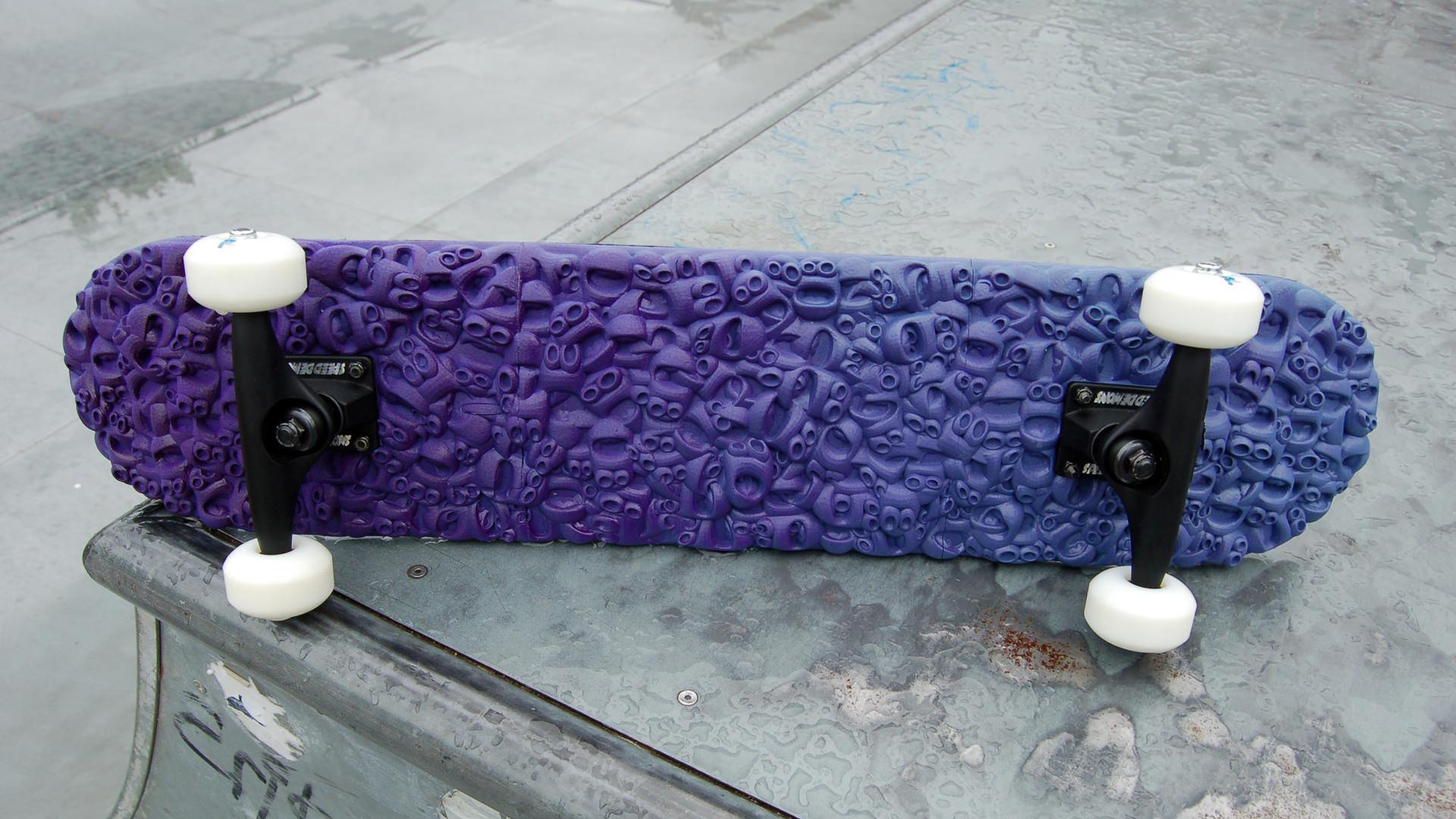 Skateboard Deck 3d Model 3d Printable Stl Cgtrader Com