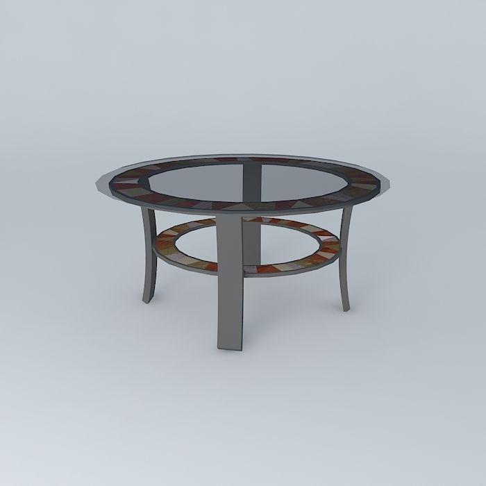Ashley dining room table free 3d model max obj 3ds fbx stl for Dining room table 3ds max
