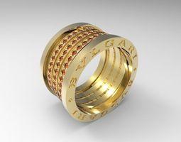bulgary ring big 3d print model