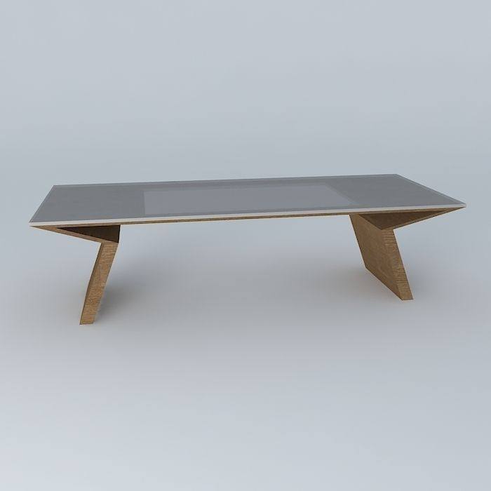 Dining table free 3d model max obj 3ds fbx stl dae for Dining table latest model
