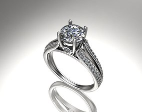 Ring Model solitaire ring