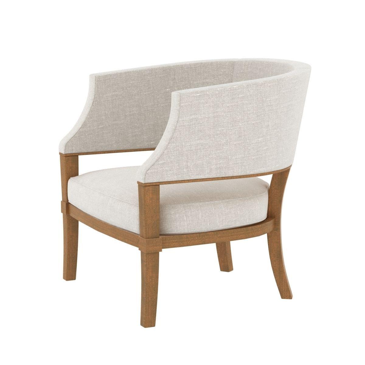 Holly Hunt South Beach Chair 3d Model Max Obj 3ds Fbx
