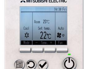 3D model Mitsubishi Electric PAR-31MAA-J temperature