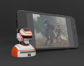 3D print model Jaspion - Smartphone support