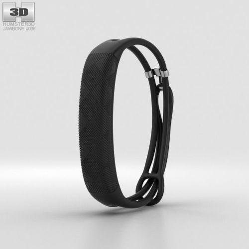 jawbone up2 black diamond lightweight thin straps 3d model max obj mtl 3ds fbx c4d lwo lw lws 1