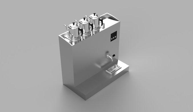 tea cauldron 3d model stl 1