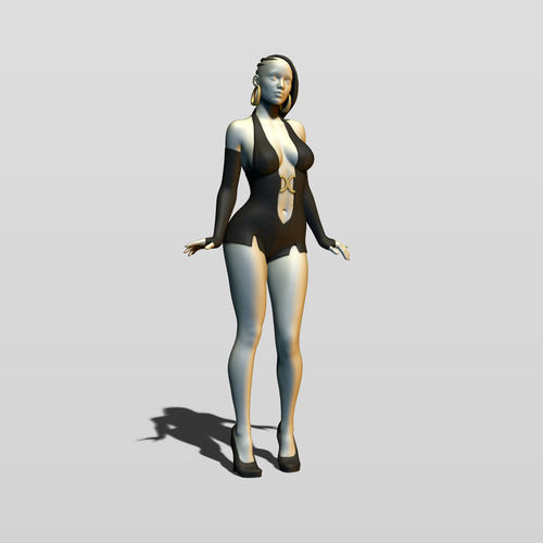 pretty woman part 11 3d model max obj mtl fbx stl ztl 1