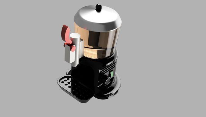 chocolate machine 3d model stl 1