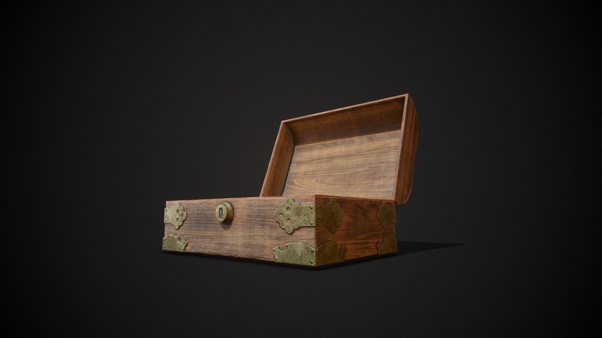 PBR Aged Jewellery Box