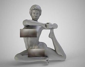 3D printable model Mermaid Yoga