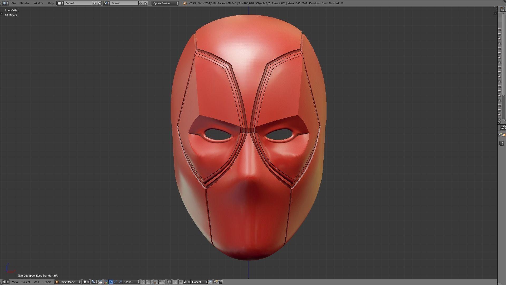 Top 10 Punto Medio Noticias | Deadpool Mask 3d Print File