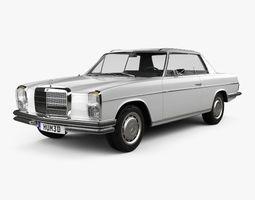 3D model Mercedes-Benz W114 1968