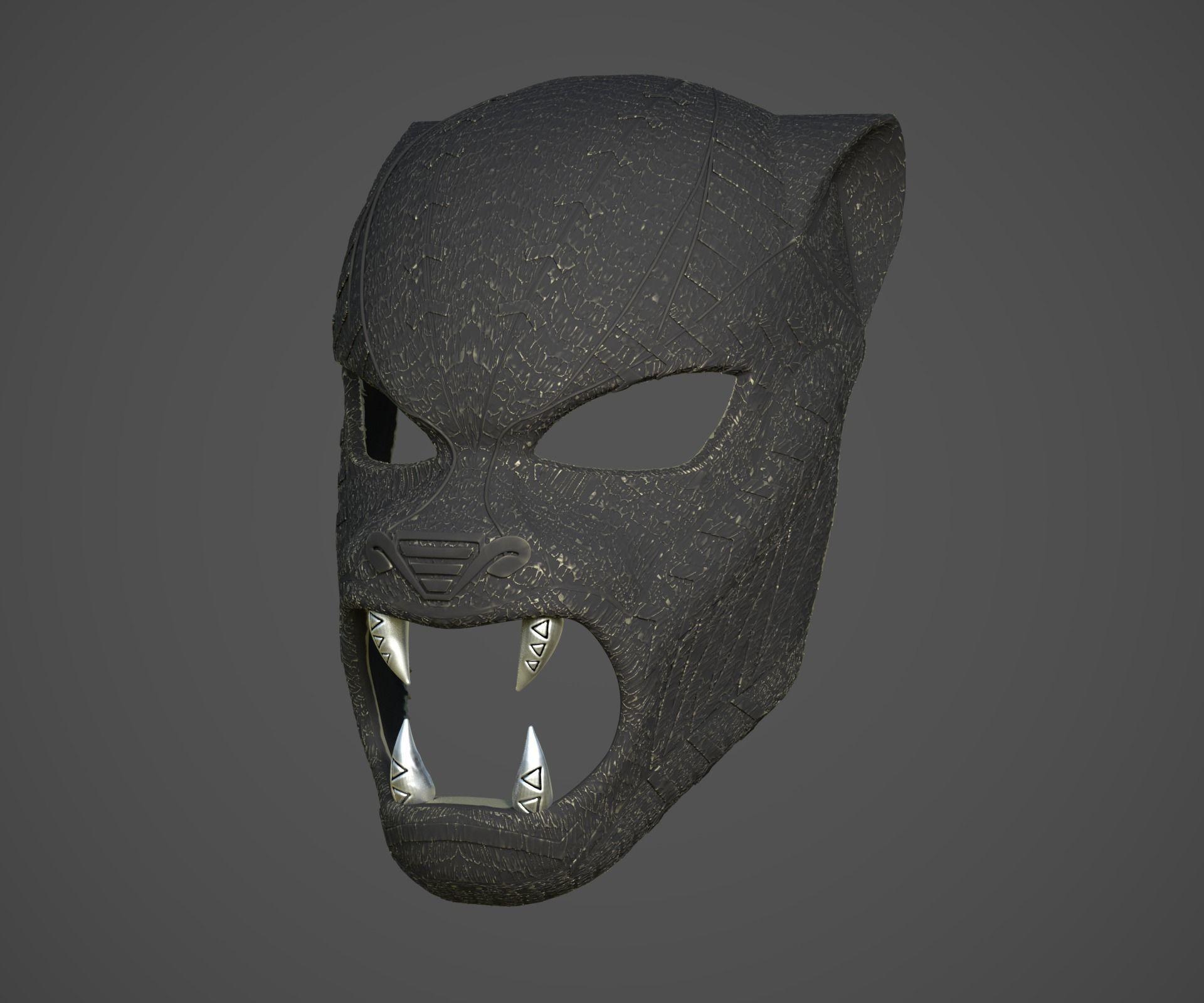 Black Panther ceremonial masks