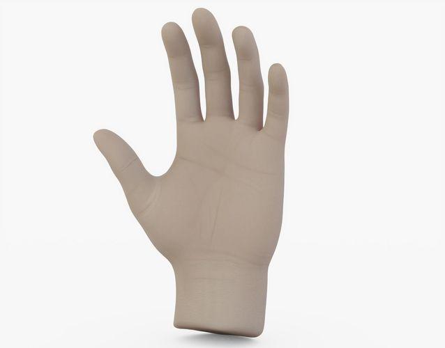 Hand Open   3D model