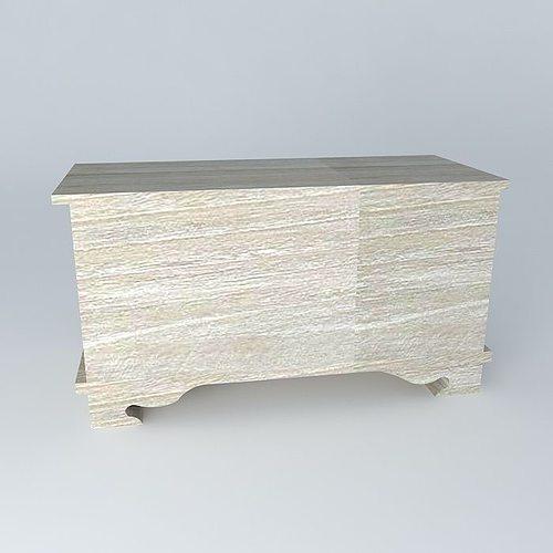 safe camille maisons du monde 3d model max obj 3ds fbx stl dae cgtrader. Black Bedroom Furniture Sets. Home Design Ideas