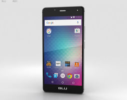3D model BLU R1 HD Midnight Black