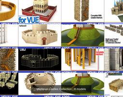 3D model Medieval Castles Collection