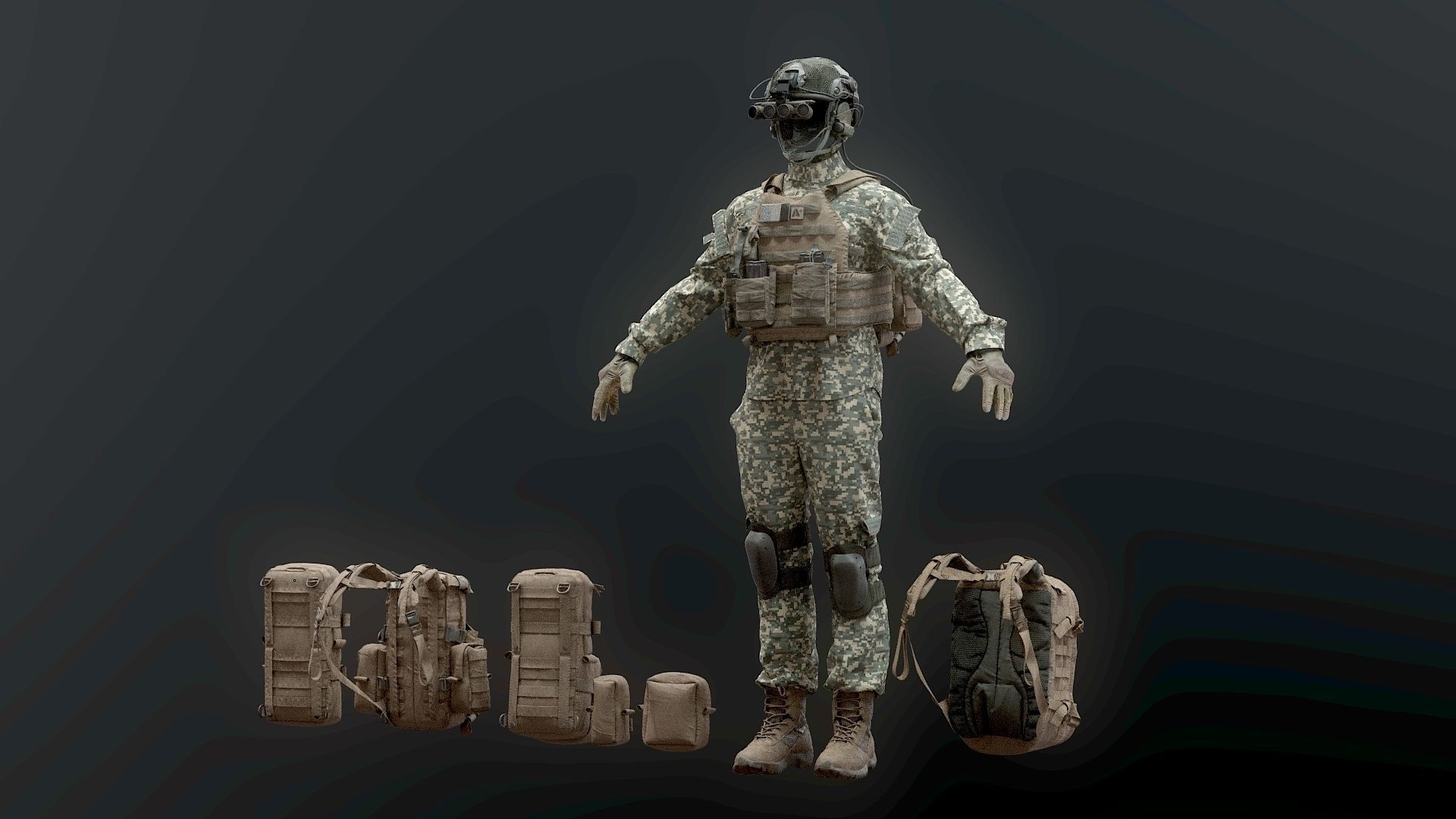 SOLDIER complete Pack
