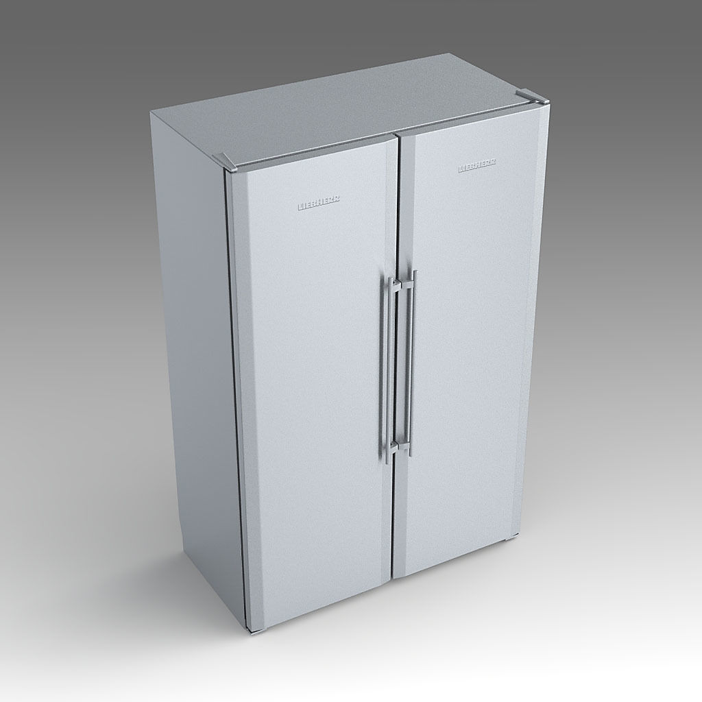 3D model Liebherr SBSesf 7212 Fridge Freezer  9f890275300