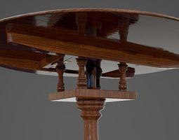Tilt Top Table - PBR 3D asset