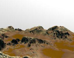 Mars Canyon 3D model