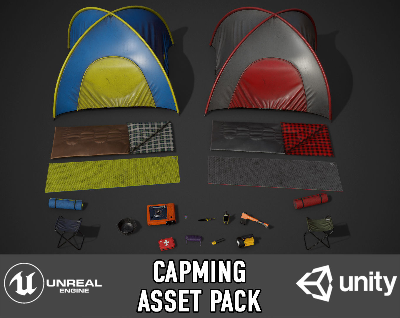 Camping Assets pack