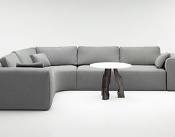Christophe Delcourt Kin sofa 3D model