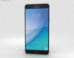 3D model Samsung Galaxy C7 Pro Dark Blue