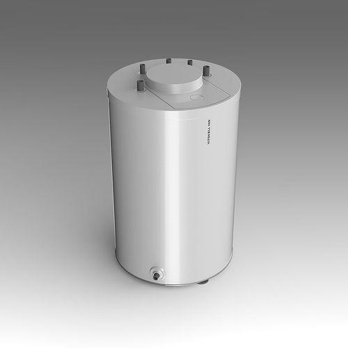 viessmann vitocell 100 hot-water boiler 3d model fbx lxo lxl 1