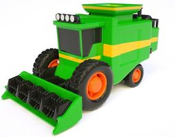 reaping machine 3D model