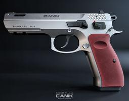 3D model Canik 55 Shark FC