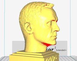 3D print model James Bond - Daniel Craig sculpture