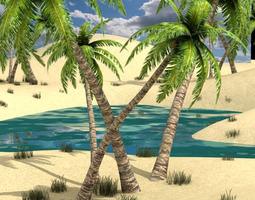 3D model Oasis