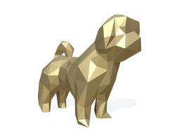 shih-tzu dog shih tzu figure 3D print model
