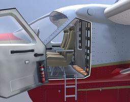 Grand Caravan Cargo Aircraft 3D asset
