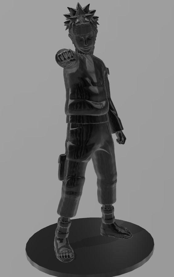 3d Printable Model Uzumaki Naruto Shippuuden Cgtrader