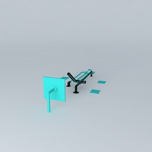 rubinet shower suite matthew quinn collection 3d model max obj 3ds fbx stl dae 2 - Matthew Quinn Collection