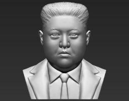 Kim Jong-un bust 3D printing ready stl obj