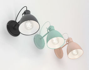 3D model Wall luminaire Eglo PRIDDY 49468 PRIDDY-P 49096