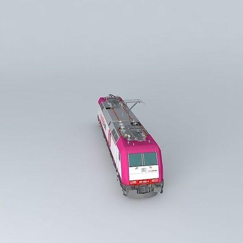 Bombardier TRAXX F140 AC2 Crossrail Livery Free 3D Model