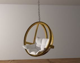Hanging armchair 3D model