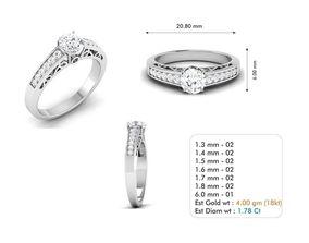 3dm file diamond-ring