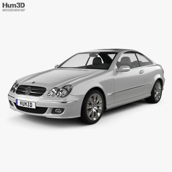 Mercedes-Benz CLK-Class C209 Coupe 2005